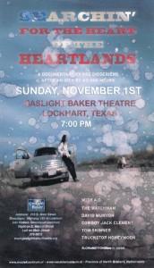poster heartland texas